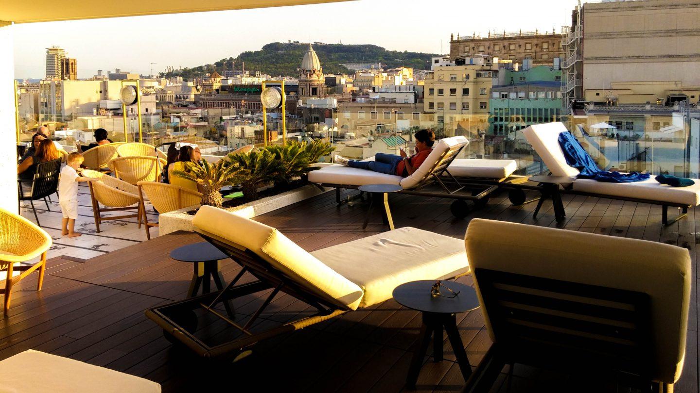 barcelona views atik terrace h10-cubik-18