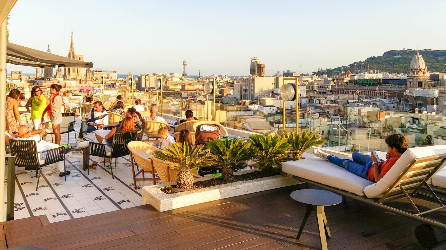 barcelona cathedral and sea views atik terrace h10-cubik-19