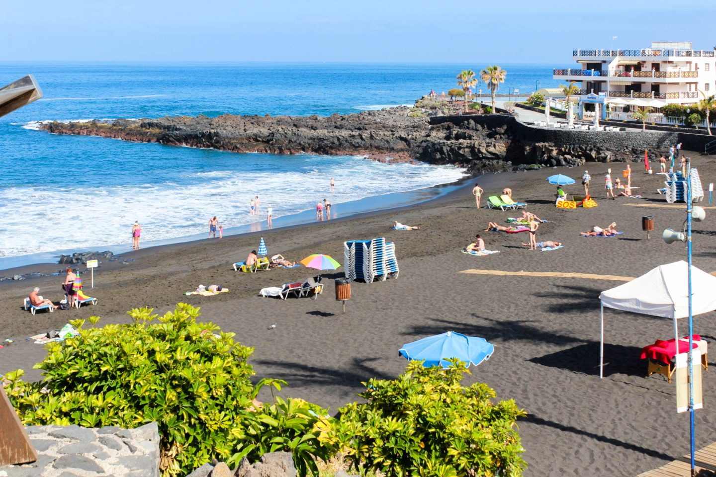 Tenerife is a paradise where 365 days a year you can enjoy the summer weather read about all - Puerto santiago tenerife mapa ...