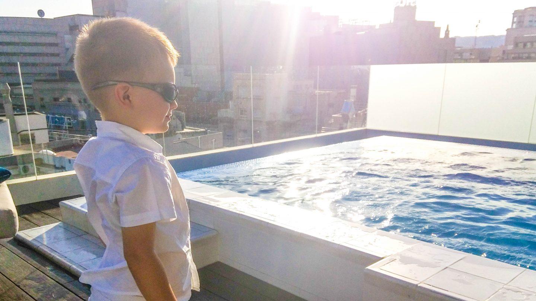 rooftop pool h10-cubik-9