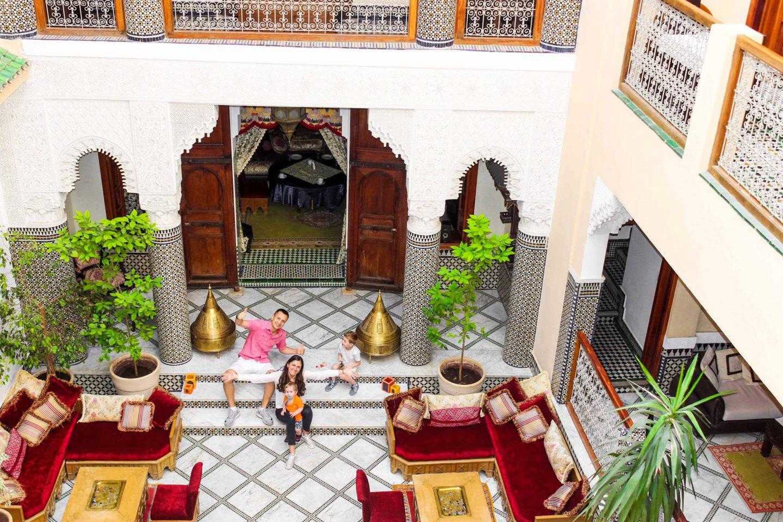 Riad Borj Dhab Fez