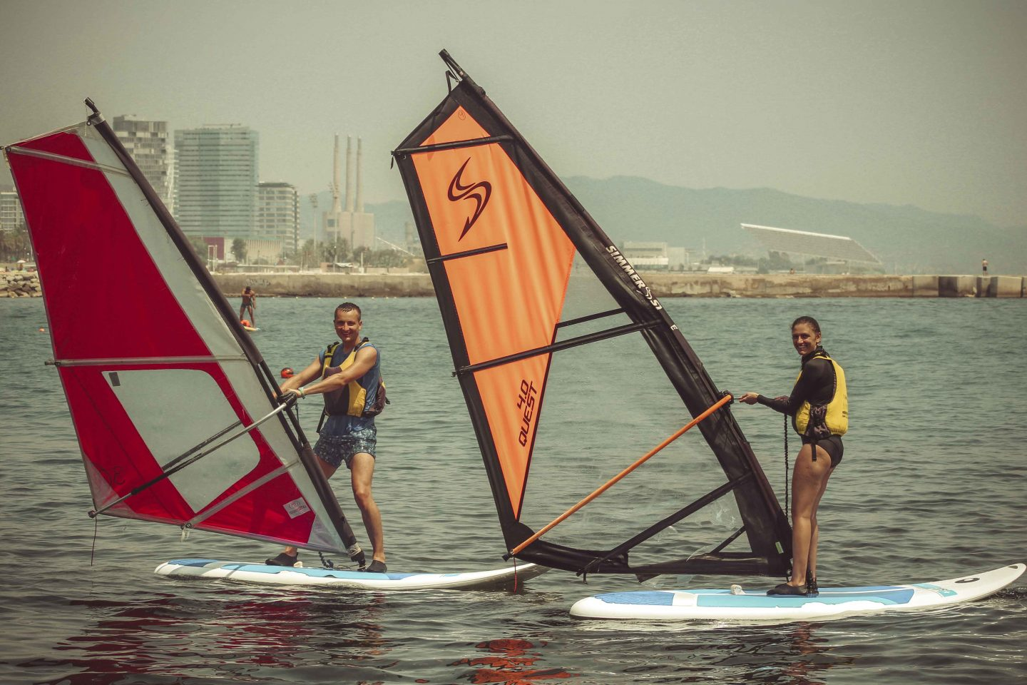 Our windsurf experience in Barcelona  How we enjoyed our